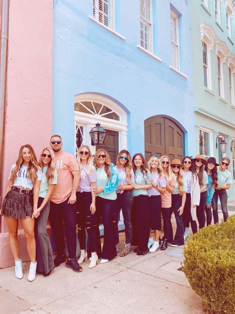 Carly Lockamon's Bachelorette trip to Charleston SC