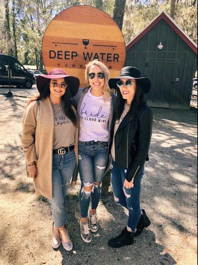 Emily Surpin's Bachelorette trip to Charleston SC