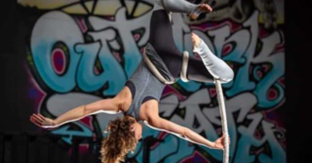 Aerial Fitness Class in Charleston SC