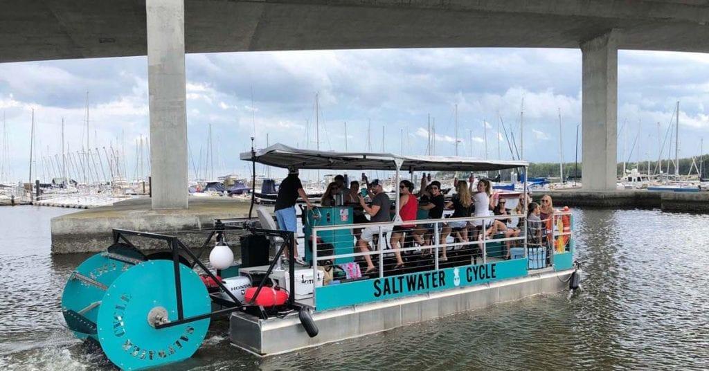 Pedal Boat Booze Cruise