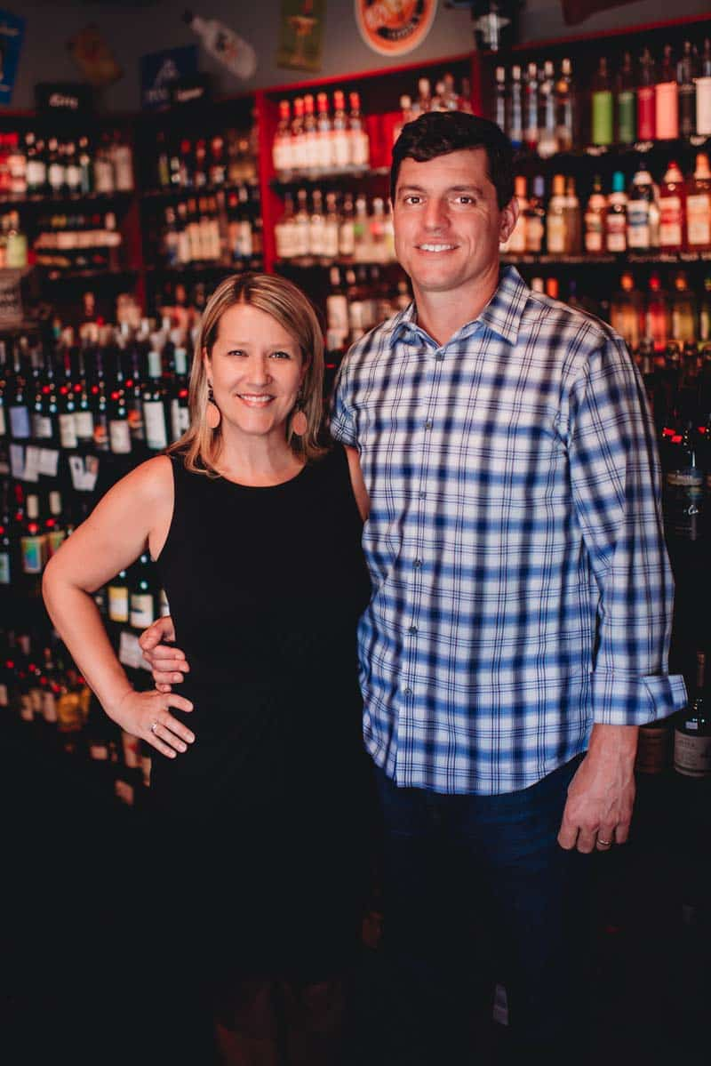 Jon and Elisha Rosa with East Bay Wine and Spirits in Charleston SC