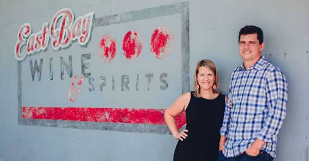 Jon and Elisha Rosa with East Bay Wine and Spirits in Charleston SC