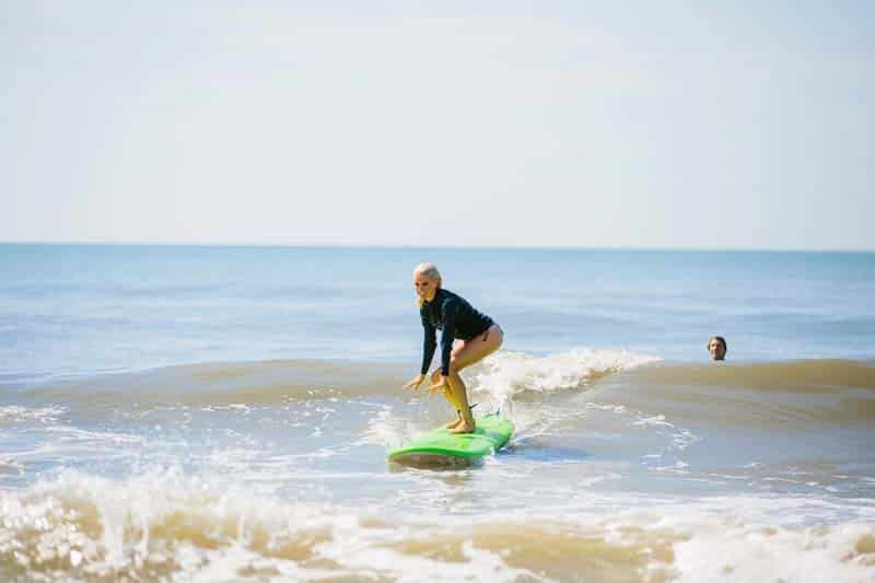 Peter Melhado with Isla Surf School on Folly Beach