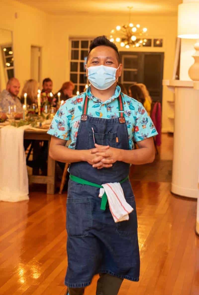 Nikko Cagalanan with Mansuetas Filipino Food in Charleston SC