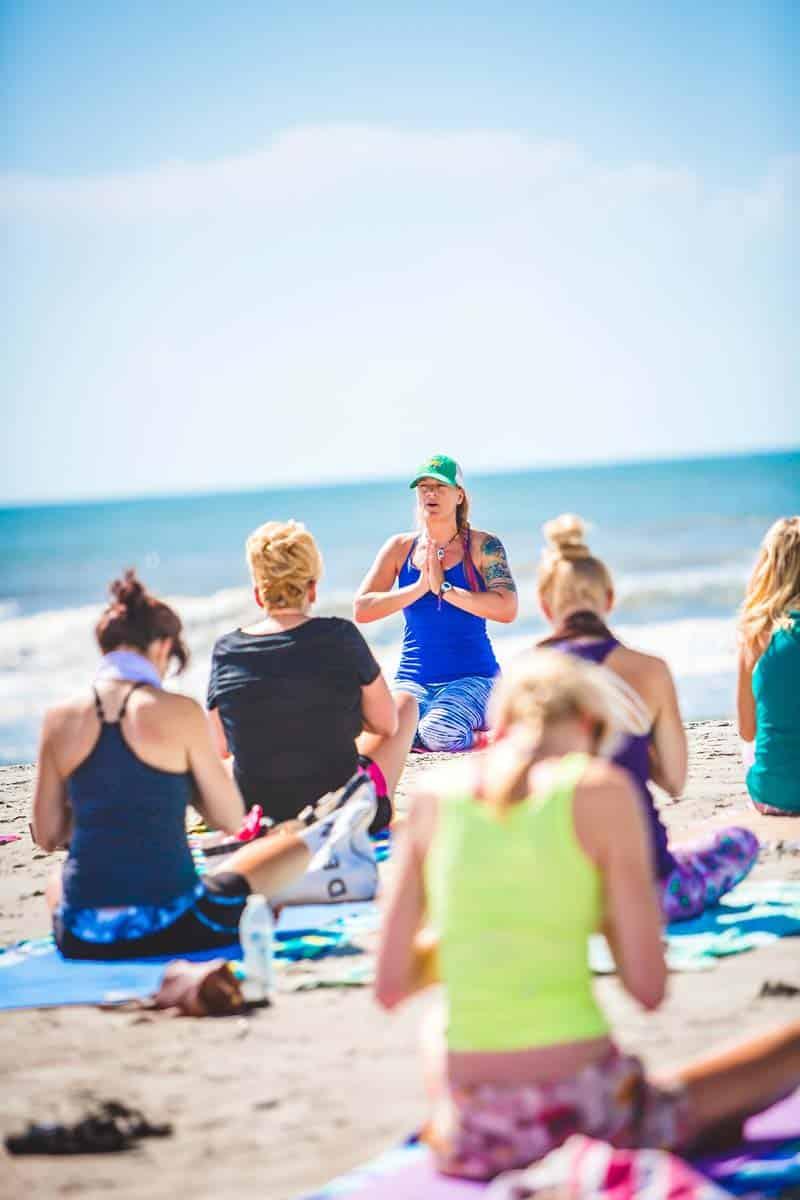 Melora Morgan with Serenity Tree Yoga in Charleston SC
