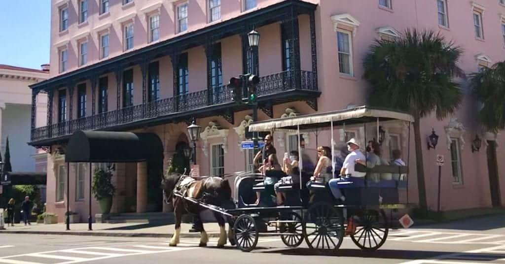 Alexis Evans' vacation to Charleston SC