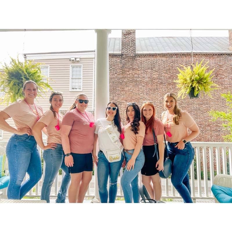 Amanda Degrassi's vacation to Charleston SC