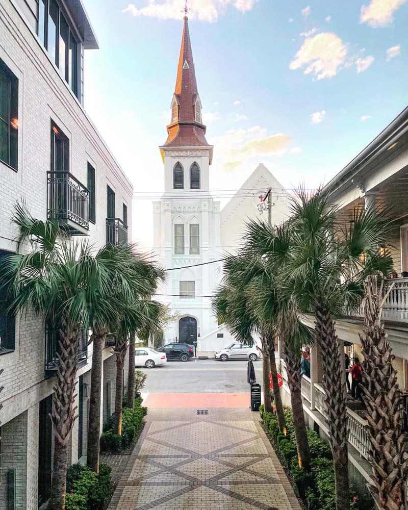 Mary Schall's vacation to Charleston SC