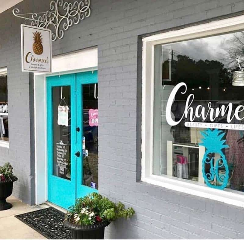 Tracie Hess with Charmed Beauty & Gifts in Charleston SC.