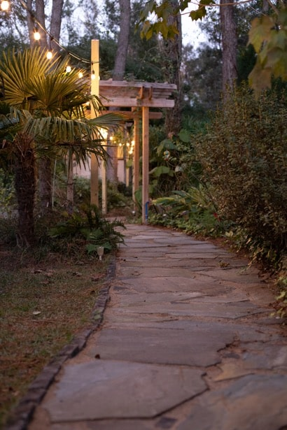 Walkway at Sailor's Rest on Johns Island, SC.