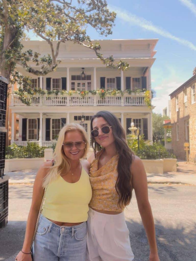 Sarah Palik's bachelorette trip to Charleston, SC.