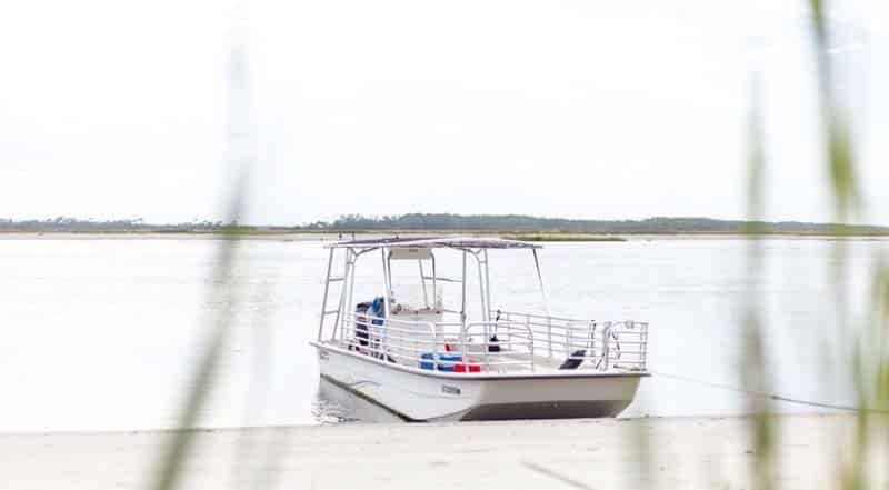 Boat Charter with Tideline Tours in Charleston, SC.