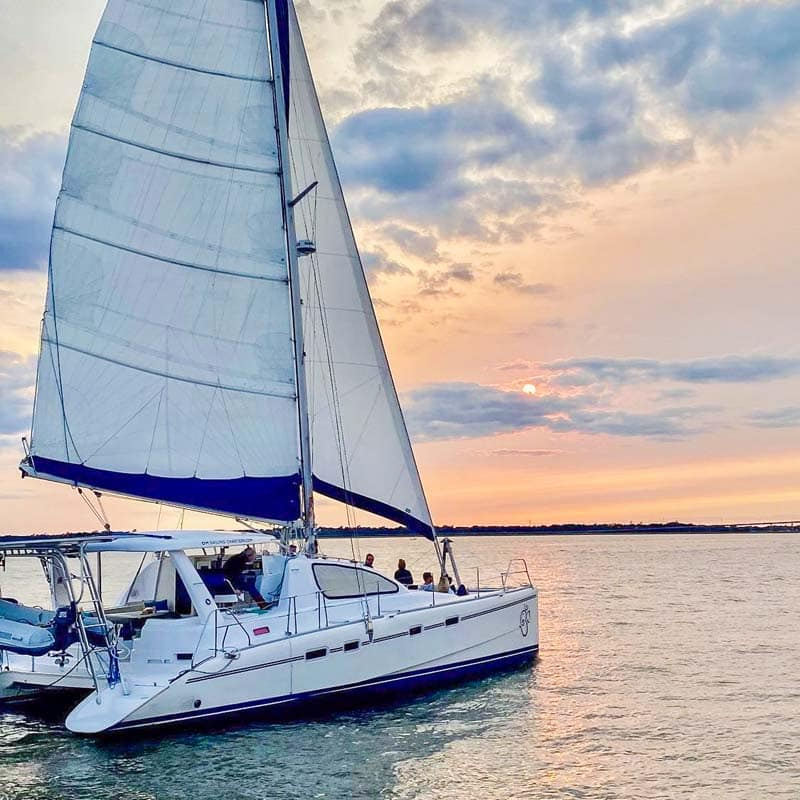 Boat Charter with OM Sailing Charters in Charleston, SC.