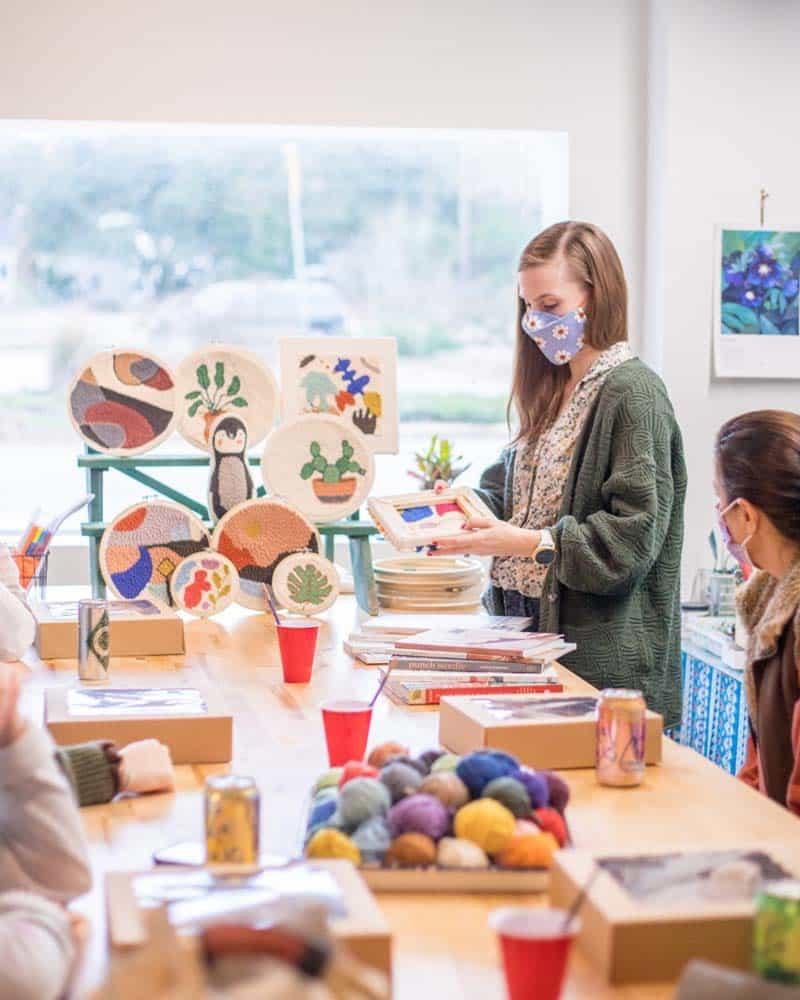 Classes at Julia Deckman Studio.