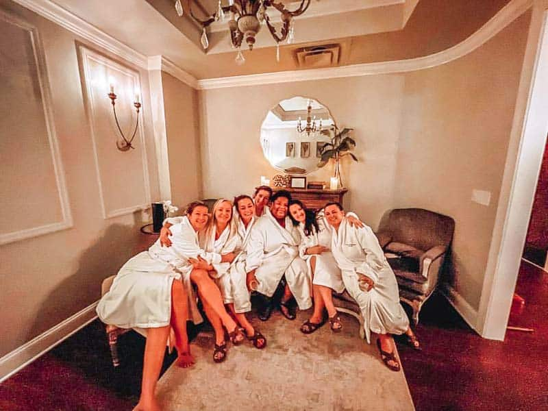 Spa Day at Woodhouse Day Spa in Mt. Pleasant, SC.