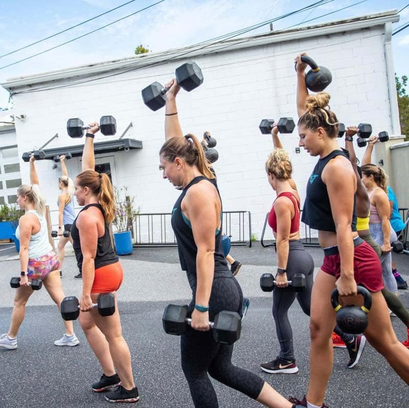 Workout and Brunch package with Rhapsody Fitness in Charleston, SC.