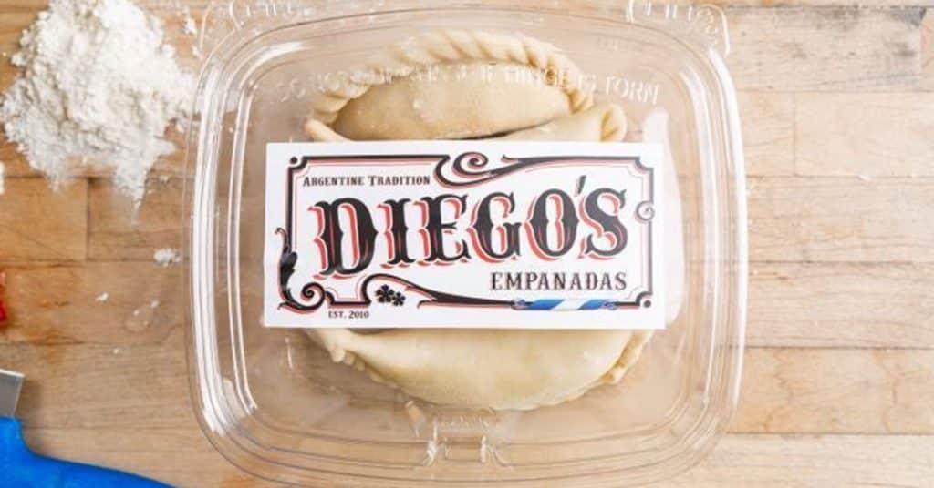 Diego's Empanadas in Charleston, SC.