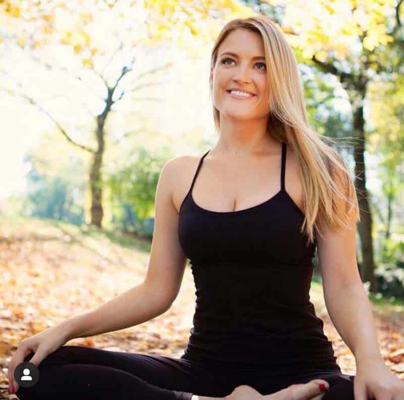 Gillian Gossow, yoga instructor for private parties or any occasion in Charleston, SC.