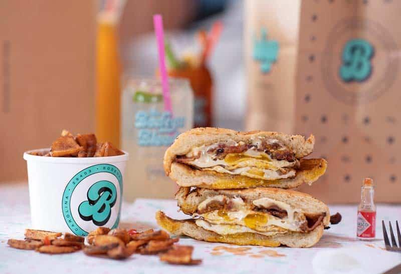 Breakfast bodega at the uptown social in Charleston, SC.
