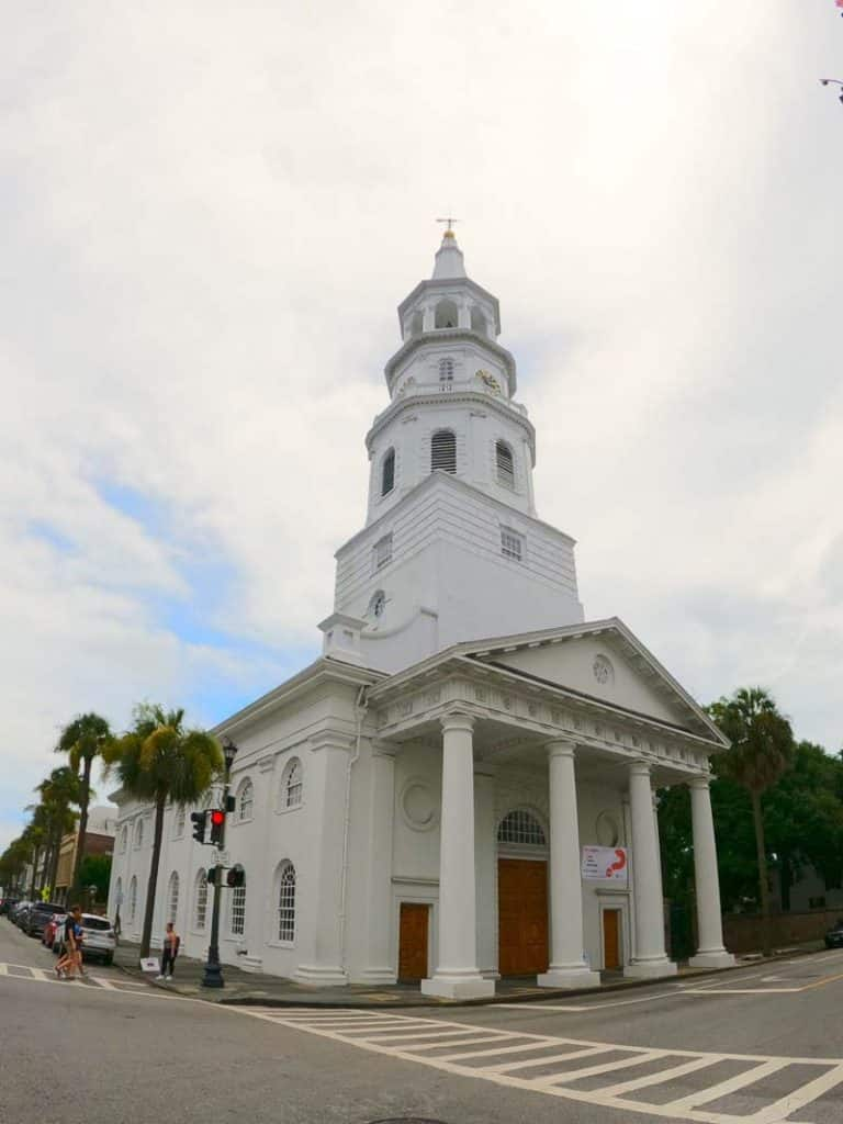 St. Michael's Episcopal Church in Charleston, SC