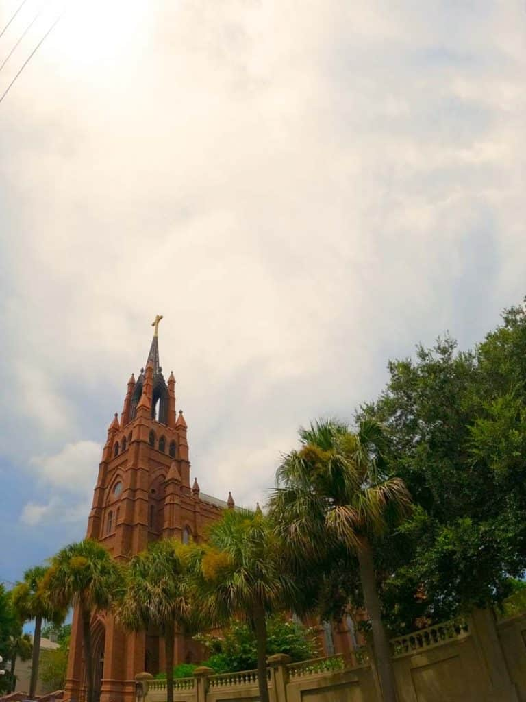 Cathedral of Saint John the Baptist in Charleston, SC.