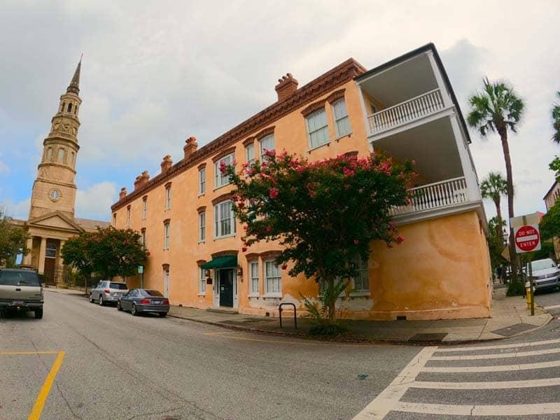 St. Philip's Church in Charleston.